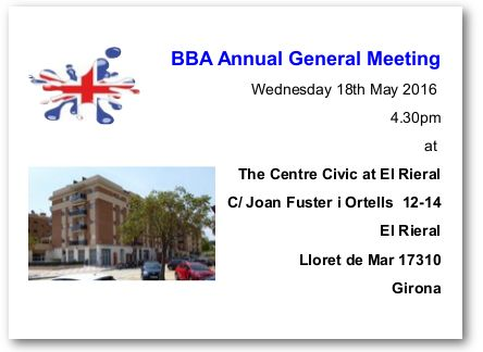 BBA Annual General Meeting