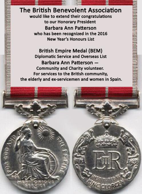 BABS BEM Medal